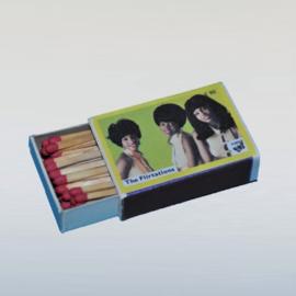 flirtations, the luciferdoosje matchbox 1960s GRATIS VERZENDEN