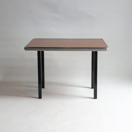 tafel bijzettafel tafel side table formica 1960s