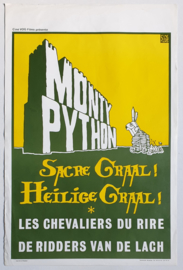monty python and the holy grail cult film movie poster 1975