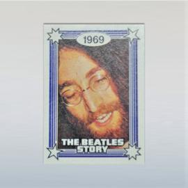 beatles, the kauwgum plaatje john lennon  monty gum card 1970s
