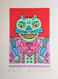 karl wirsum zeefdruk printscreen poster special editions USA 1993