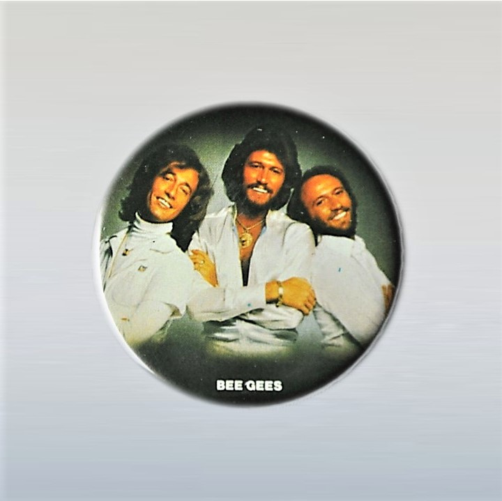 bee gees, the button pin 1970s GRATIS VERZENDEN