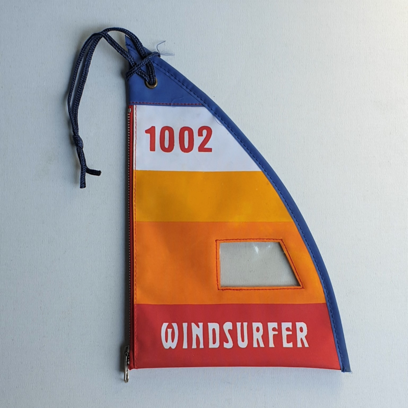 etui windsurfing windsurfer pencil tote 1980s