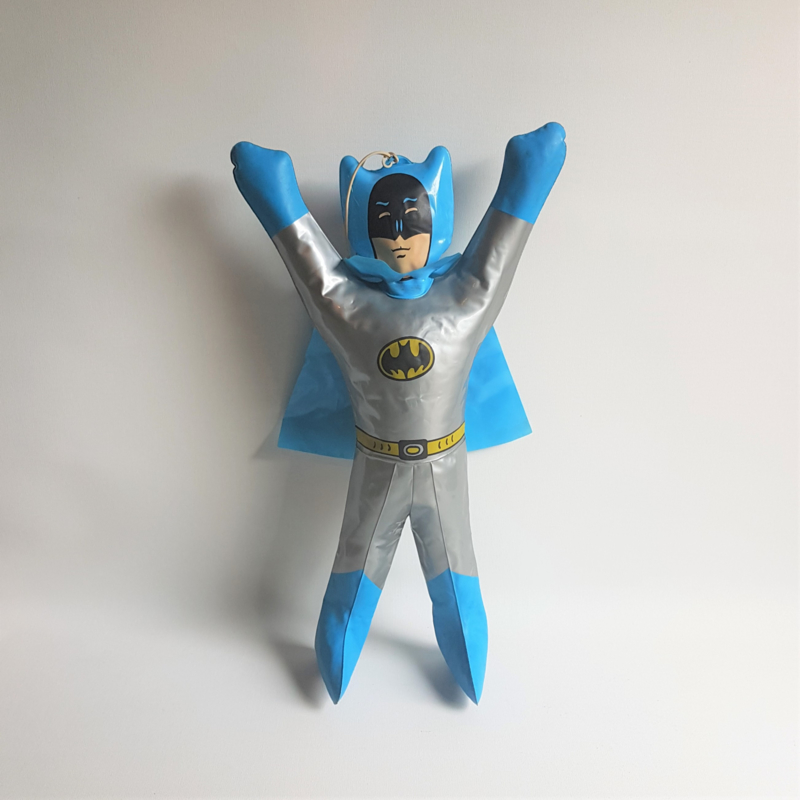 batman opblaasbaar inflatable doll 1970s