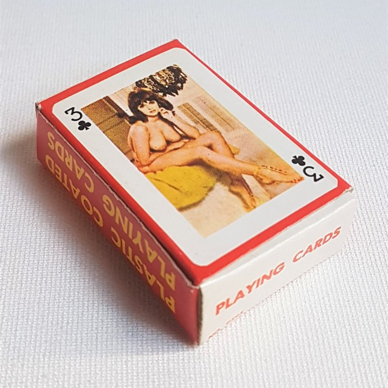 pin-up kaartspel playing cards 1960s
