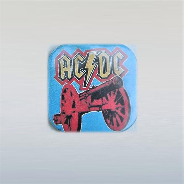 ac/dc button pin 1970s / 1980s GRATIS VERZENDEN