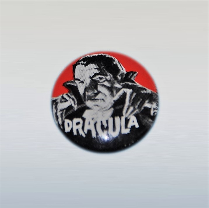 dracula speldje pin 1960s USA  universal pictures