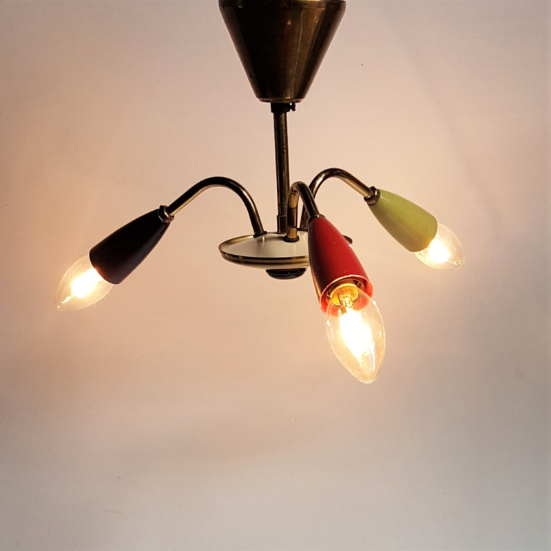 hanglamp hanging lamp stilnovo italy sputnik spider 1960s