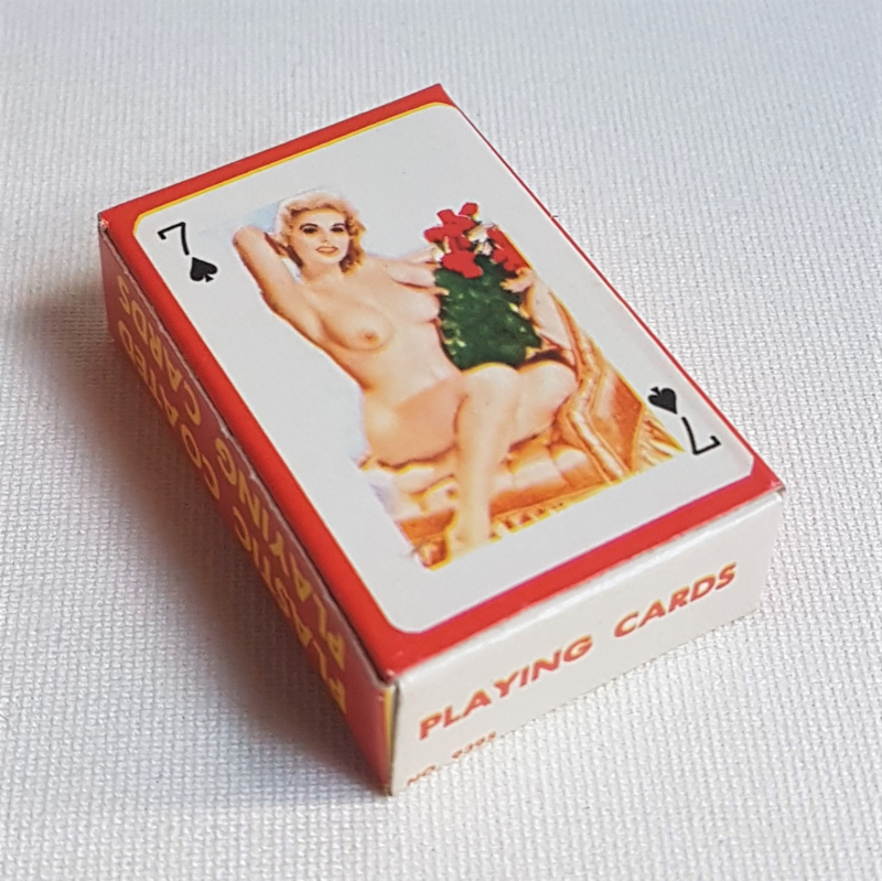 pin-up kaartspel playing cards 1960s GRATIS VERZENDEN