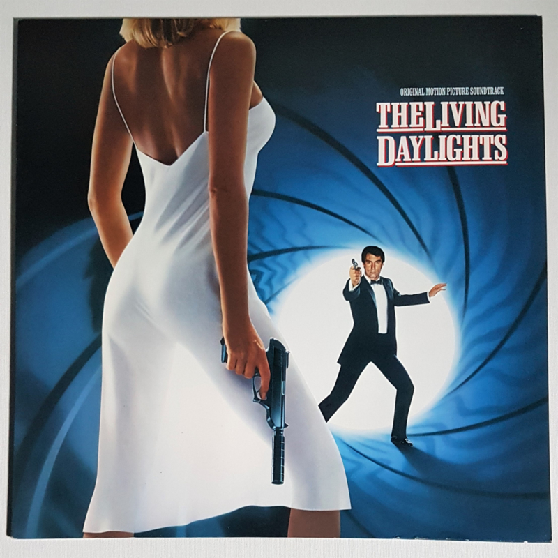 james bond the living daylights LP soundtrack john barry 1987