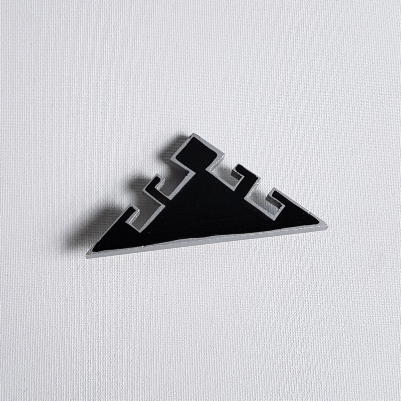 broche keith haring style brooch 1980s