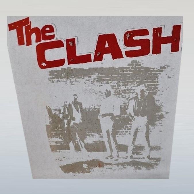 clash, the strijkembleem iron on 1970s