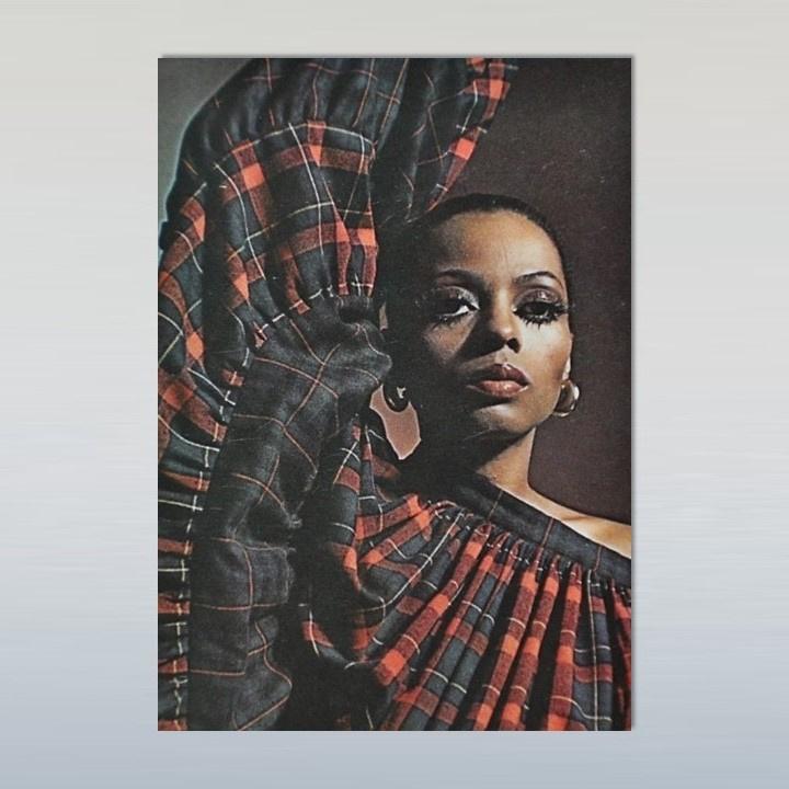 ross, diana ansichtkaart postcard 1970s / 1980s GRATIS VERZENDEN