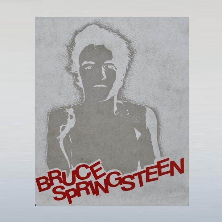 springsteen, bruce strijkembleem 1970s / 1980s