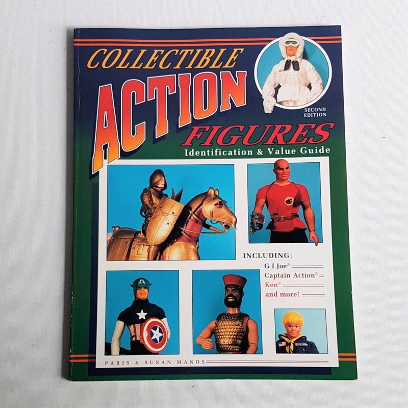 toys collectible action figures: identification and value guide boek book 1995