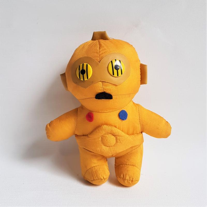 star wars C3PO plush figure japan 1992