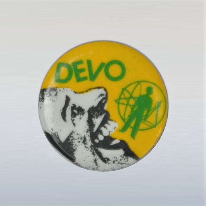 devo button pin 1970s GRATIS VERZENDEN
