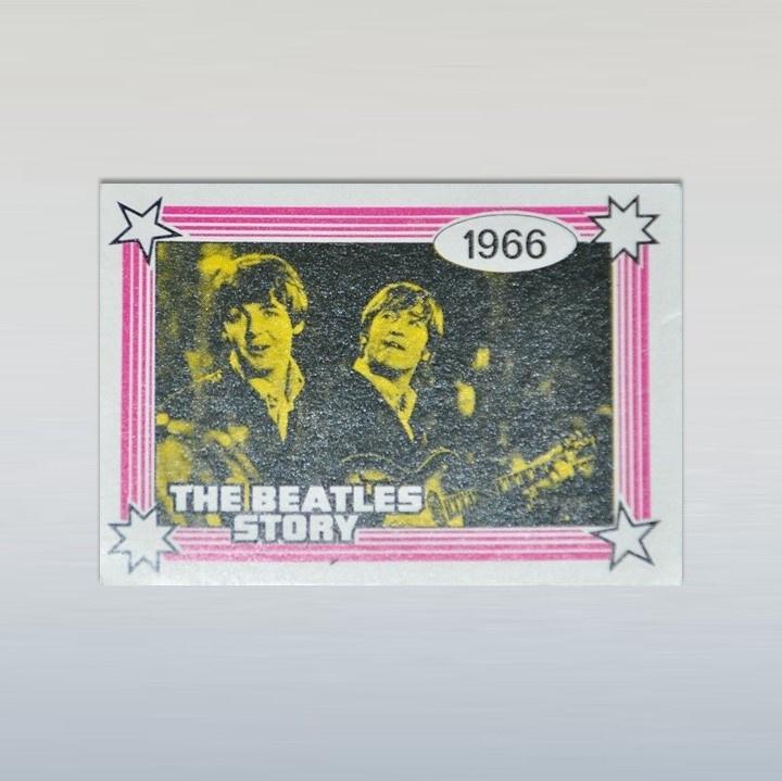 beatles monty gum card 1970s GRATIS VERZENDEN