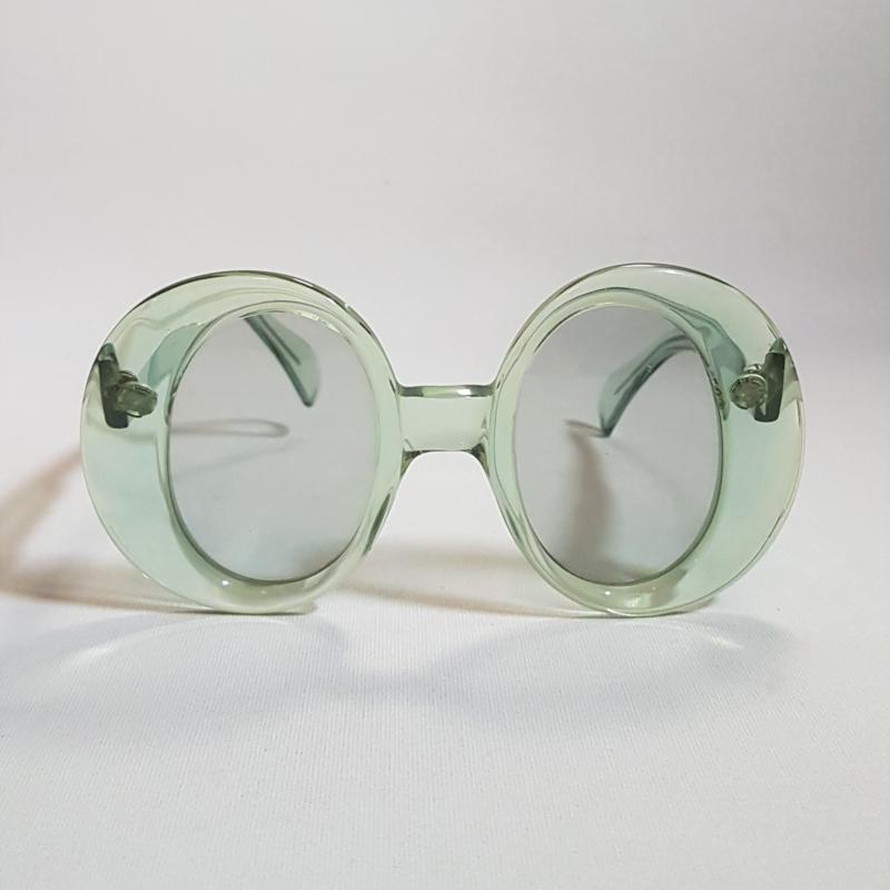 zonnebril sunglasses oval oversized S.K. mod.460 1960s / 1970s