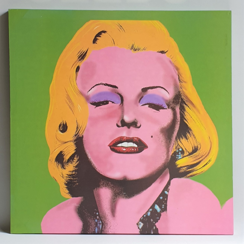 monroe, marilyn canvas print andy warhol style XL 1990s / 2000s