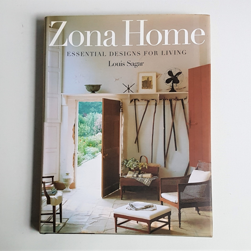 interieur zona home essential designs for living louis sagar boek book 1996