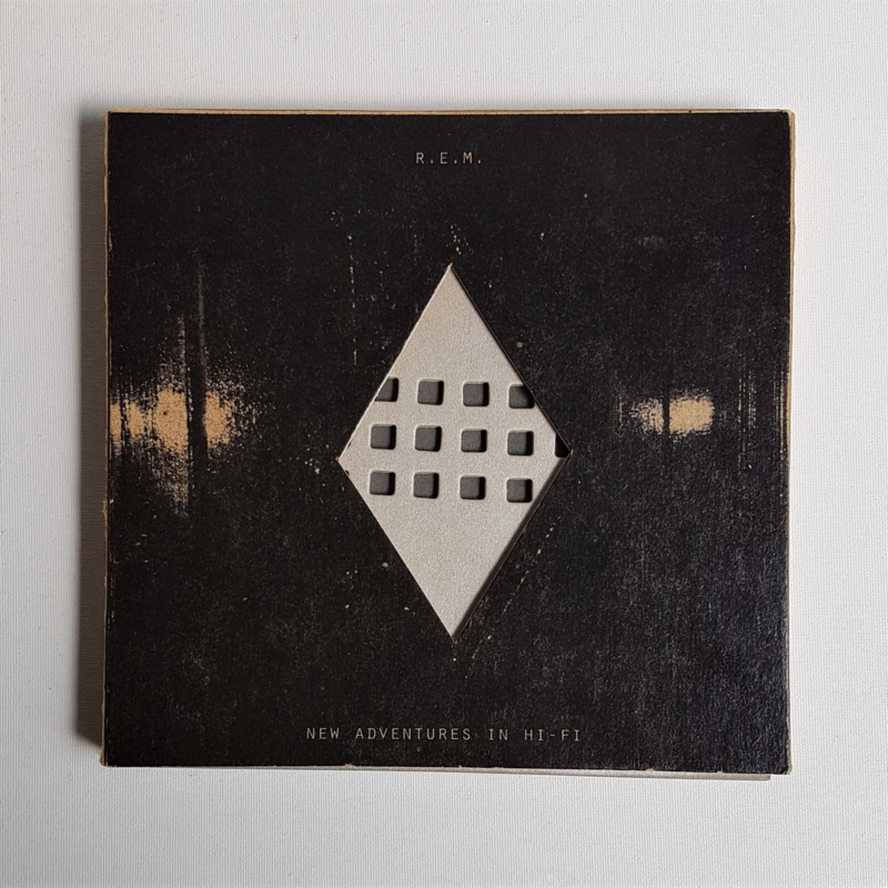 R.E.M. new adventures in hi-fi cd limited edition 1996