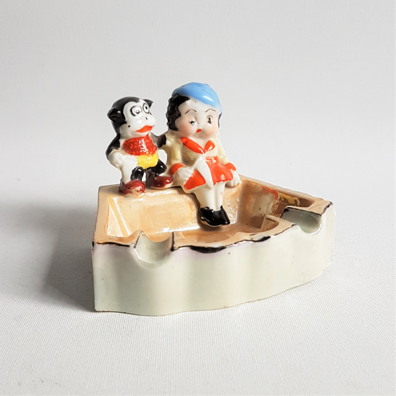 betty boop asbak ashtray japan 1930s