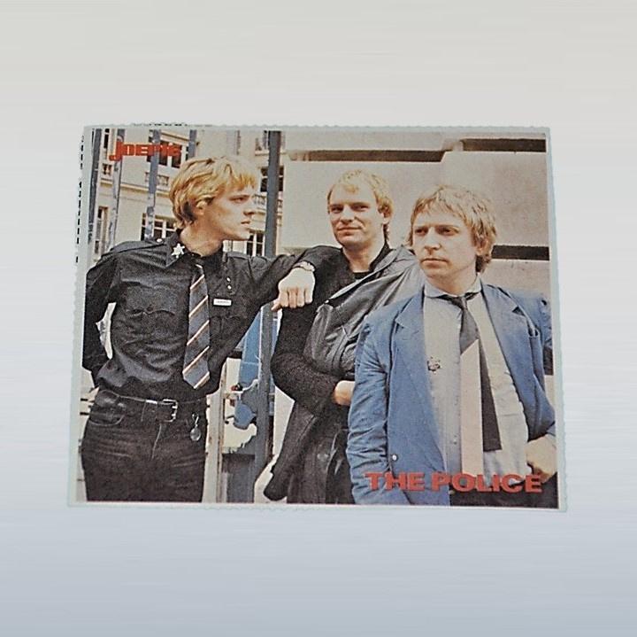 police, the sticker joepie 1970s / 1980s GRATIS VERZENDEN