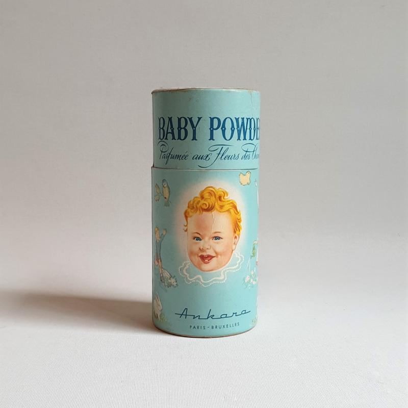 talcpoeder baby powder ankara 1950s