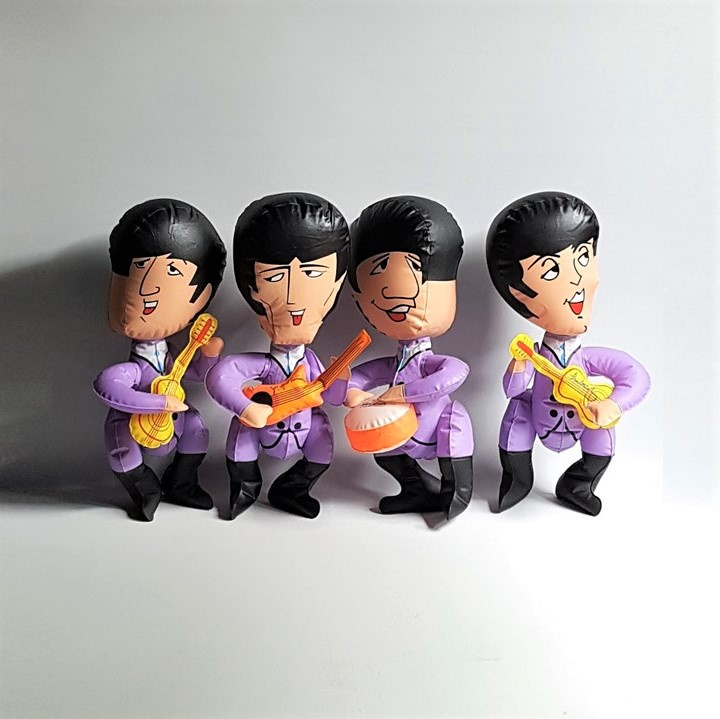 beatles, the opblaaspoppen inflatable blow up dolls nems 1966