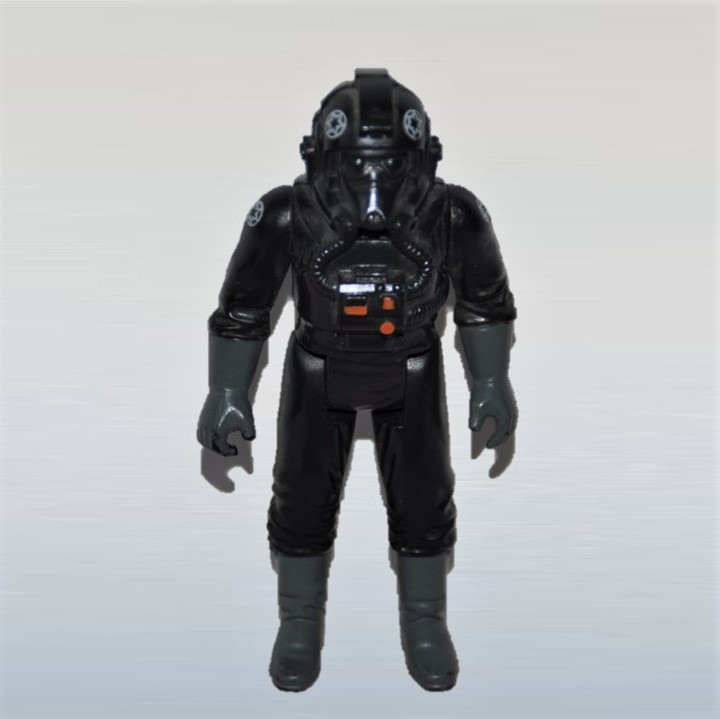 star wars actiefiguur action figure imperial tie fighter pilot vintage 1982