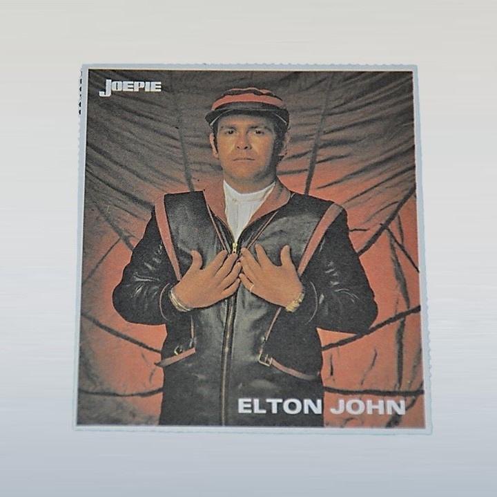 john, elton sticker joepie 1970s / 1980s GRATIS VERZENDEN