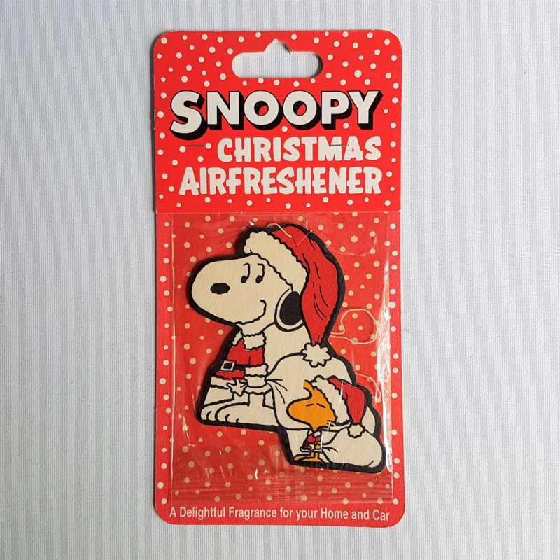 snoopy christmas airfreshener MOC 1980s