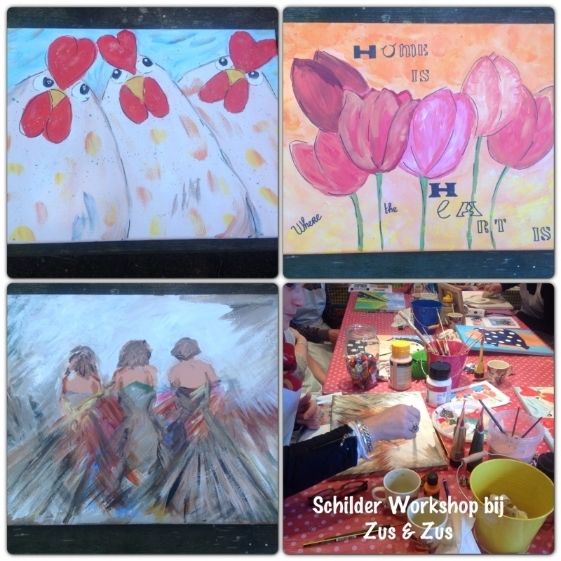 Schilder workshops