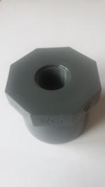 50mm lijm naar half duims draad tbv solax en digisol badvoeler