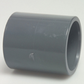 Mof-Mof 50mm tbv zwembad pvc 50 mm druk verbinding