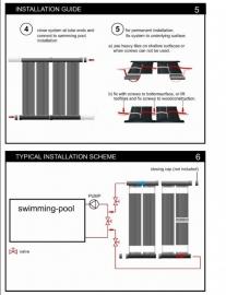 Solar 4 Pool zwembad verwarming uitleg installatie 4m2 kit