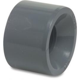 inlijm ring 50mm naar 40mm  tbv zwembad pvc druk verbinding