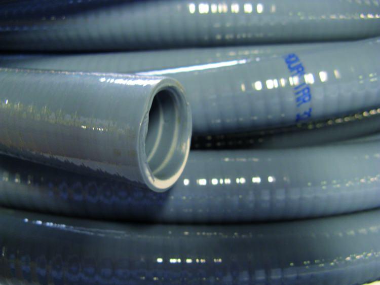 10meter flexibele lijm bare pvc slang 50mm