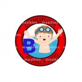 (FB504) zwemdiploma jongen B