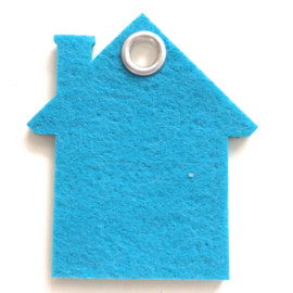 Sleutelhanger vilt huis (31 kleuren)