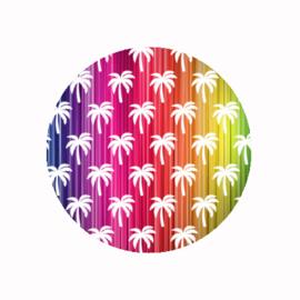 (FB631) palmbomen regenboog