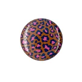 (FB943) leopard bruin/felroze