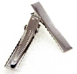 alligator clips met tanden 1 stuks