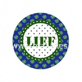 (FB80) LIEF navy/groen