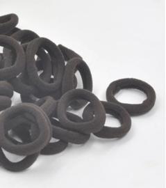 elastiekje donker grijs (3cm)