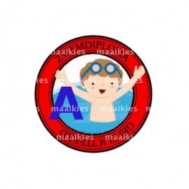 (FB504) zwemdiploma jongen A