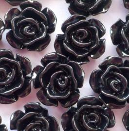 roosje flatback zwart