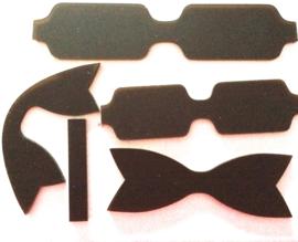 Kunststof strikken mal (9cm breed) Style D