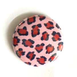 (FB904) leopard roze/rood